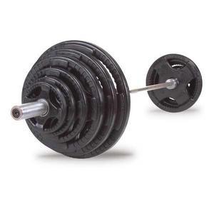 discos-olimpico-ahulado-profesional-uso-rudos-plastificado-negro-set